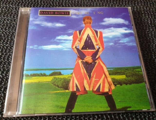 David Bowie - Earthling - 2003 Columbia CD reissue - Aus press rock electro