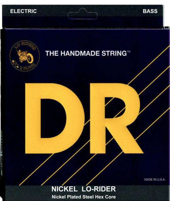 DR Lo-Rider NLLH40 Lite Lite Nickel Plated Bass Strings