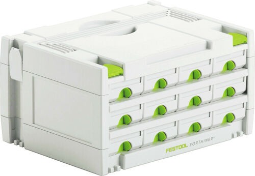 FESTOOL SYSTAINER 491986 SYS 3SORT12 12 DRAWER SORTAINER