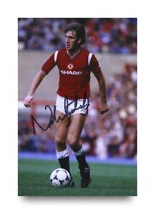 Norman-Whiteside-Signed-6x4-Photo-Manchester-United-Autograph-Memorabilia-COA