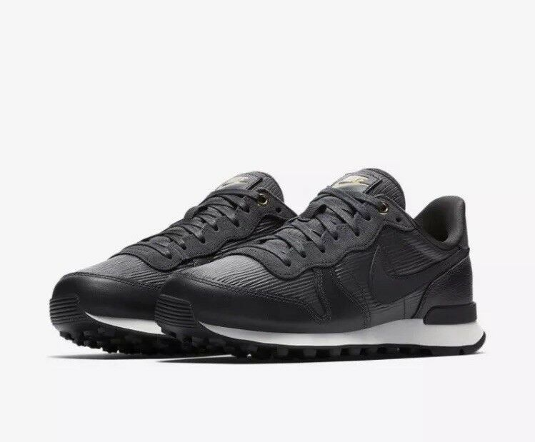 Nike Internationalist PRM Anthracite Summit blanc  noir  Uk 7.5
