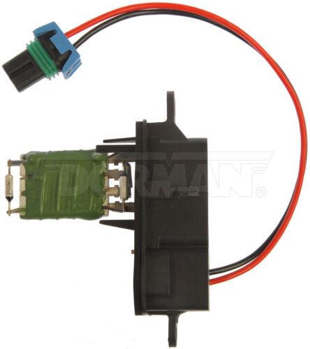 HVAC Blower Motor Resistor Front Dorman 973-007