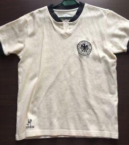 Details zu DFB Deutschland Adidas Originals Retro Trikot gr.L 60er Jahre Style