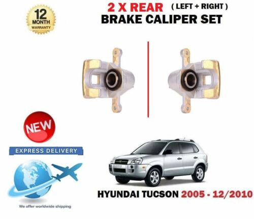 FOR HYUNDAI TUCSON 2.0 CRDI 2.7 2.0i 20052010 2x REAR LEFT RIGHT BRAKE CALIPER