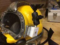 Block For Commercial Diving Helmet