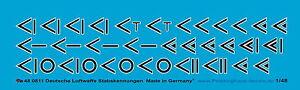 Peddinghaus-1-48-0811-Aleman-stabskennungen-der-CAZA