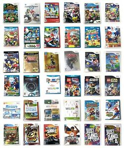 Nintendo-Wii-Or-U-Or-3DS-Or-Gamecube-Games-Pick-1-Super-Mario-Kart-Sports-Zelda