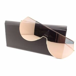 fe6cf913eb Image is loading Fendi-0193-0000J-Rose-Gold-Mirror-New-Sunglasses-
