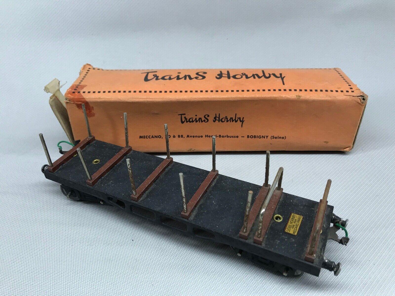 Waggon Rungenwagen Modeleisenbahn Hornby,Spur O,Zustand Neu Leiterwagen aus Top