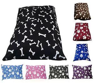 Couette remplie ou en mousse à mémoire rempli Lits pour chiens et couvre. Taille-Large-afficher le titre d`origine eytpYAcS-07185941-710848474
