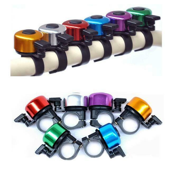 Bicycle Bike Cycling Handlebar Bell Ring Horn Sound Alarm Loud Ring Safety DB