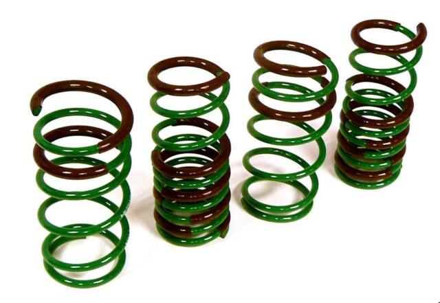 """Tein S Tech Lowering Springs For 1995-1999 Toyota Tercel 2DR Drop 1.1/""""//1.3/"""""""