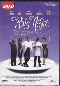 Dvd-BIG-NIGHT-UNA-COMMEDIA-CON-GUSTO-con-Isabella-Rossellini-nuovo-1995