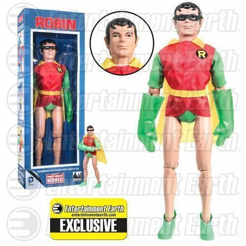 DC Comics Retro 18-Inch Robin with with with Removable Mask Action Figure - EE Exc. NEW 5d76cb