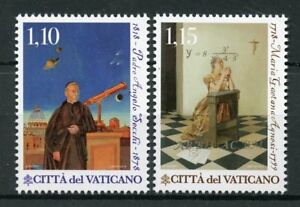 Vatican-City-2018-MNH-Science-amp-Faith-Angelo-Secchi-2v-Set-Astronomy-Stamps