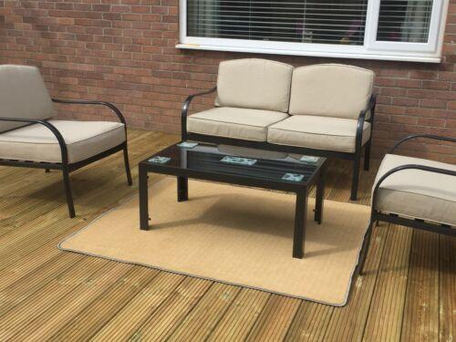 Outdoor Tapis, UV Stable Pvc Backed Tapis pour patios, terrasse, balcon, bateau