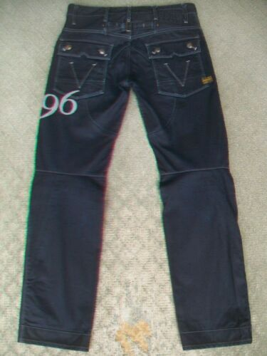 MENS G STAR 'MOTOR 5620 TAPERED EMBRO' 96 JEANS SIZE 31
