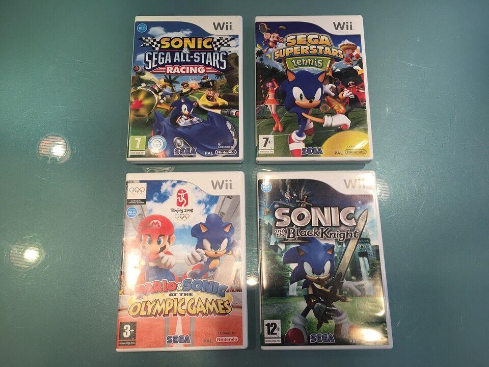 Sonic SEGA Samling, Nintendo Wii, adventure