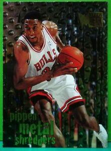 Scottie-Pippen-subset-card-Metal-Shredders-1996-97-Fleer-Metal-145