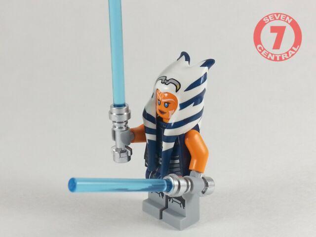 LEGO NEW Authentic Star Wars Ahsoka Tano Lightsabers 75283 Minifigure 1x