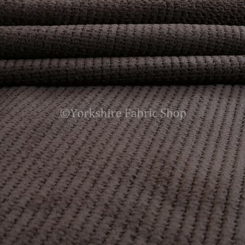 10 Metres Of Soft Texture Plush Corduroy Durable Brown Upholstery Sofas Fabric