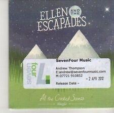 (CV167) Ellen & The Escapades, All The Crooked Scenes - 2012 DJ CD