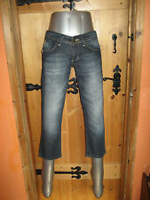 GALLIANO Woman's JEANS Size 27 -HIPS 38cm ,Drop 18cm, Inside Leg 55cm .