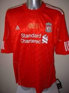 Liverpool-BNWT-Carragher-2010-Football-Soccer-Jersey-Shirt-Adidas-NEW-XXL-amp-XXXL