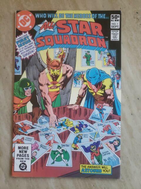 ALL-STAR SQUADRON #1 (1981) -BRONZE AGE