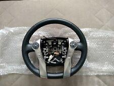 Genuine Toyota Prius Zvw30 Zvw35 Leather Heated Steering Wheel