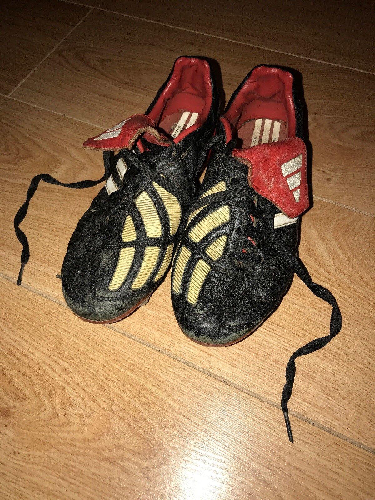 Vintage Raro Adidas Projoator Manias Original Fútbol botas Talla 4 SG