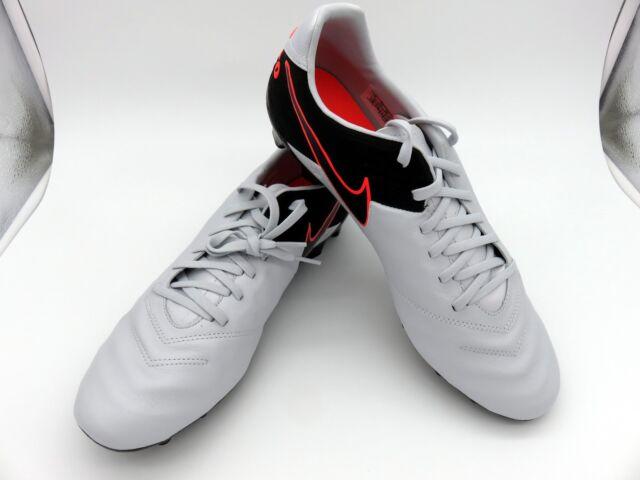3fba555f4 Nike Tiempo Mystic V FG Men's Soccer Cleat 819236-001 Platinum Black Size 8