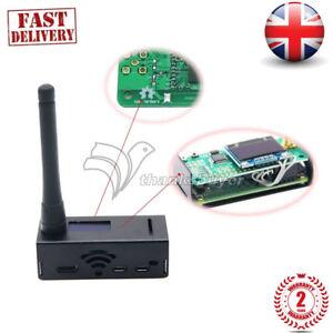 OLED raspberry pi Case Assembled MMDVM hotspot Support P25 DMR YSF Antenna
