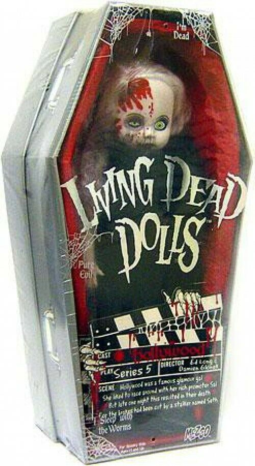 Living Dead Dolls Serie 5 Hollywood muñeca de 10 pulgadas