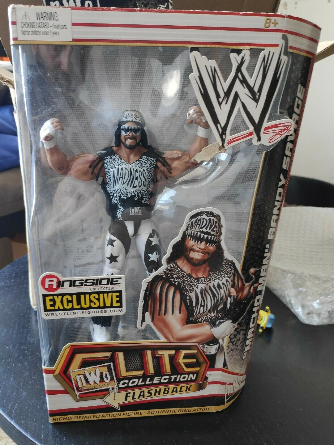 Wwe Elite Ringside exclusivo Macho Man