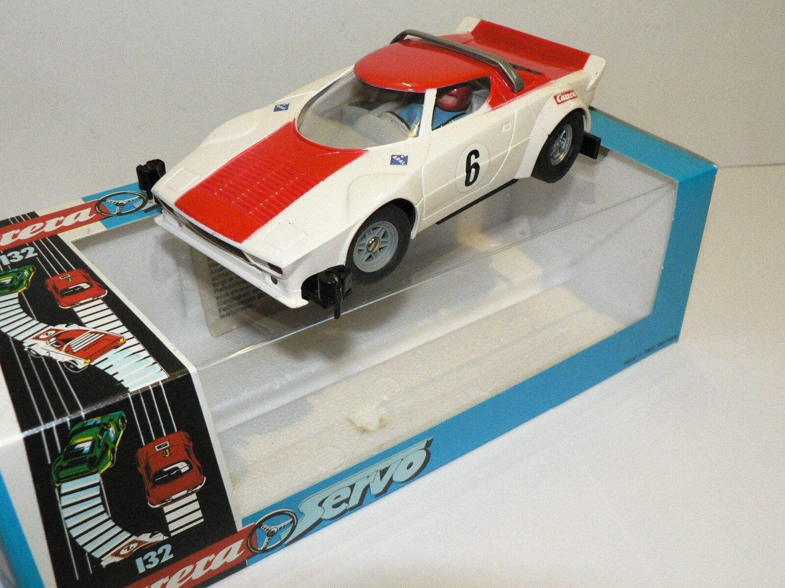 Carrera Servo 132 Lancia Stratos 88402 NEW