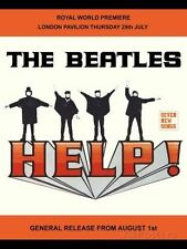 THE BEATLES - HELP LENNON & McCARTNEY METAL SIGN TIN PLAQUE MAN WOMEN CAVE 1070