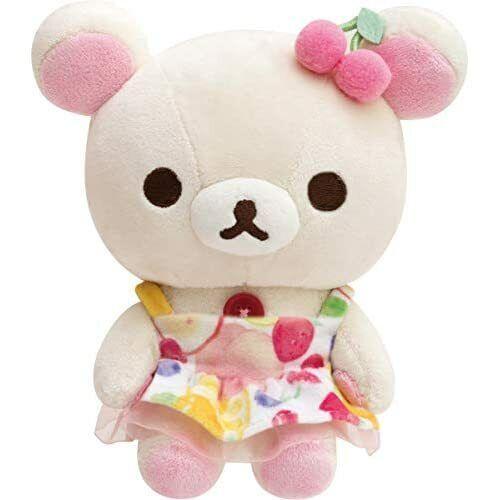 Rilakkuma Relax Fruits Korilakkuma Plush Doll Stuffed Toy MY47601 w//Tracking NEW
