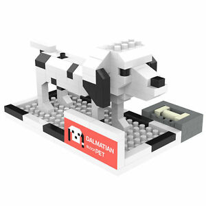 Nanoblock compatible ANSBRICK BLOCK PET Learning Building Doggie 8 Sets