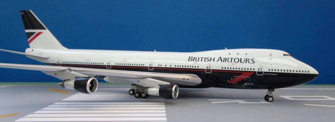 JFOX JF7772015 1 200 BOEING 747-283B BRITSH AIRTOURS G-BMGS