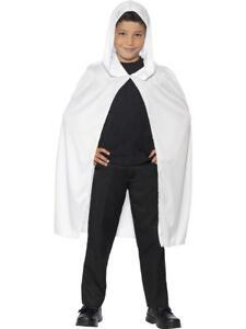 White-Hooded-Ghosts-Cape-Childrens-Halloween-Fancy-Dress-Ghost-Accessory