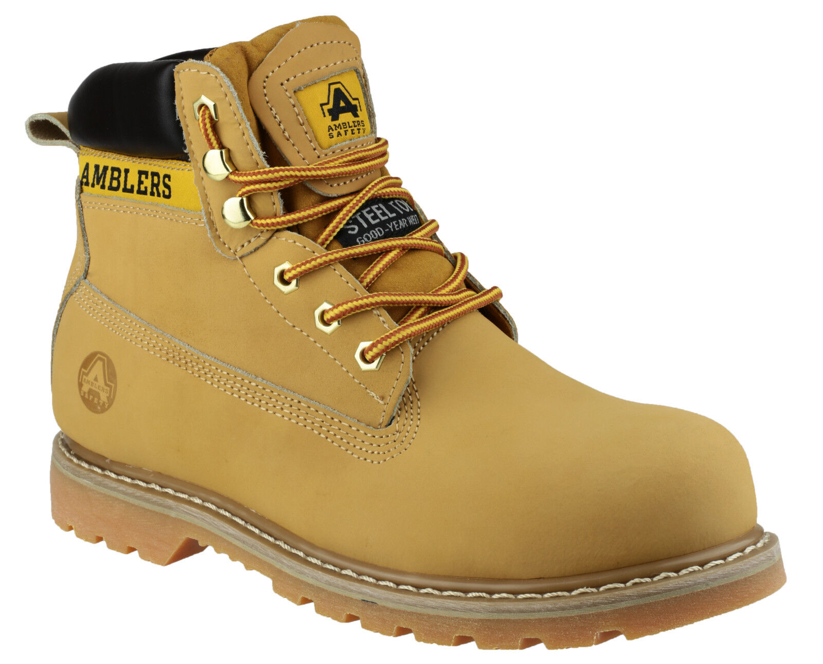 Amblers FS7 Steel Toe Capped Industrial Mens Boys Work Stiefel UK4-13