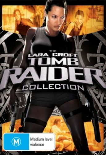 1 of 1 - The Tomb Raider Collection (2-Disc Set)-DVDS LIKE NEW REGION 4 FREE POST AUS