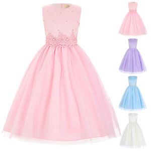 Dama-De-Honor-Princesa-Boda-Concurso-belleza-Fiesta-Formal-Vestido-Largo-5-Color