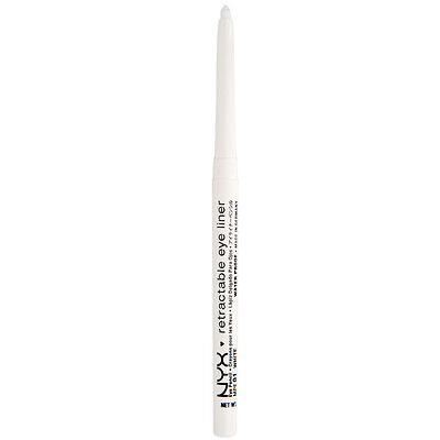NYX  Waterproof Retractable Eyeliner color MPE01 White Brand New