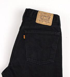 Levi's Strauss & Co Hommes 615 02 Vintage Orange Étiquette Jean Taille W33 L30