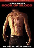 Clive Barker's Book Of Blood Dvd