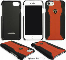 Genuine Lamborghini Huracan D1 Leather Cover for iPhone 7 Back ...