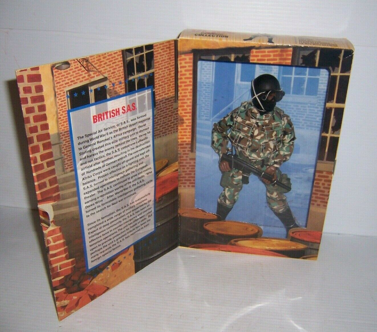 1996 GI Joe classeeic Collection Limited Addition British  S.A.S. cifra nuovo  consegna rapida