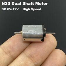 Mini N20 Dc 6v 9v 12v High Speed Micro 10mm12mm Electric Motor Dual 1mm Shaft